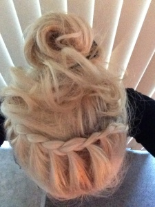 Fun braids and messy buns
