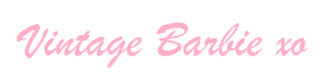 Vintage Barbie signature