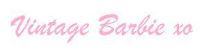 Vintage Barbie signature