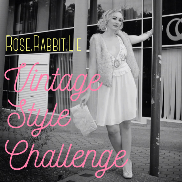 Rose Rabbit Lie Vintage Style Challenge
