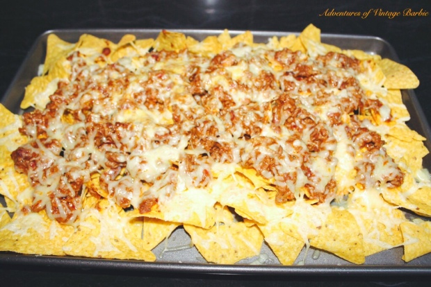 Nacho's are the best food for sharing! www.adventuresofvintagebarbie.com