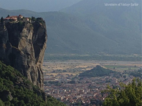 The Monastery of Holy Trinity - one of six remain monasteries of Meteora, Greece
