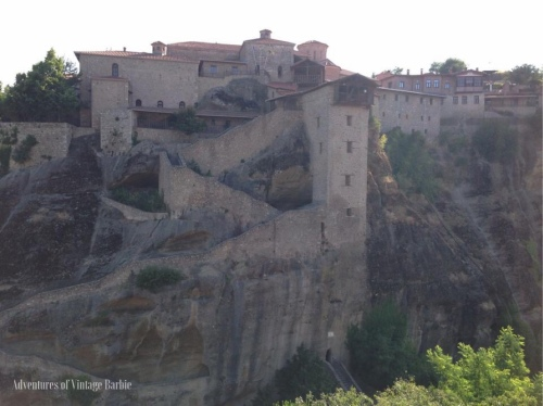 Holy Monastery of Great Meteoron - one of six remaining monasteries of Meteora, Greece