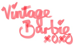 Vintage Barbie xoxo
