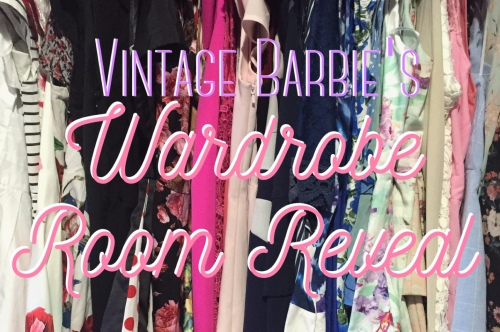 Vintage Barbie's Wardrobe Room