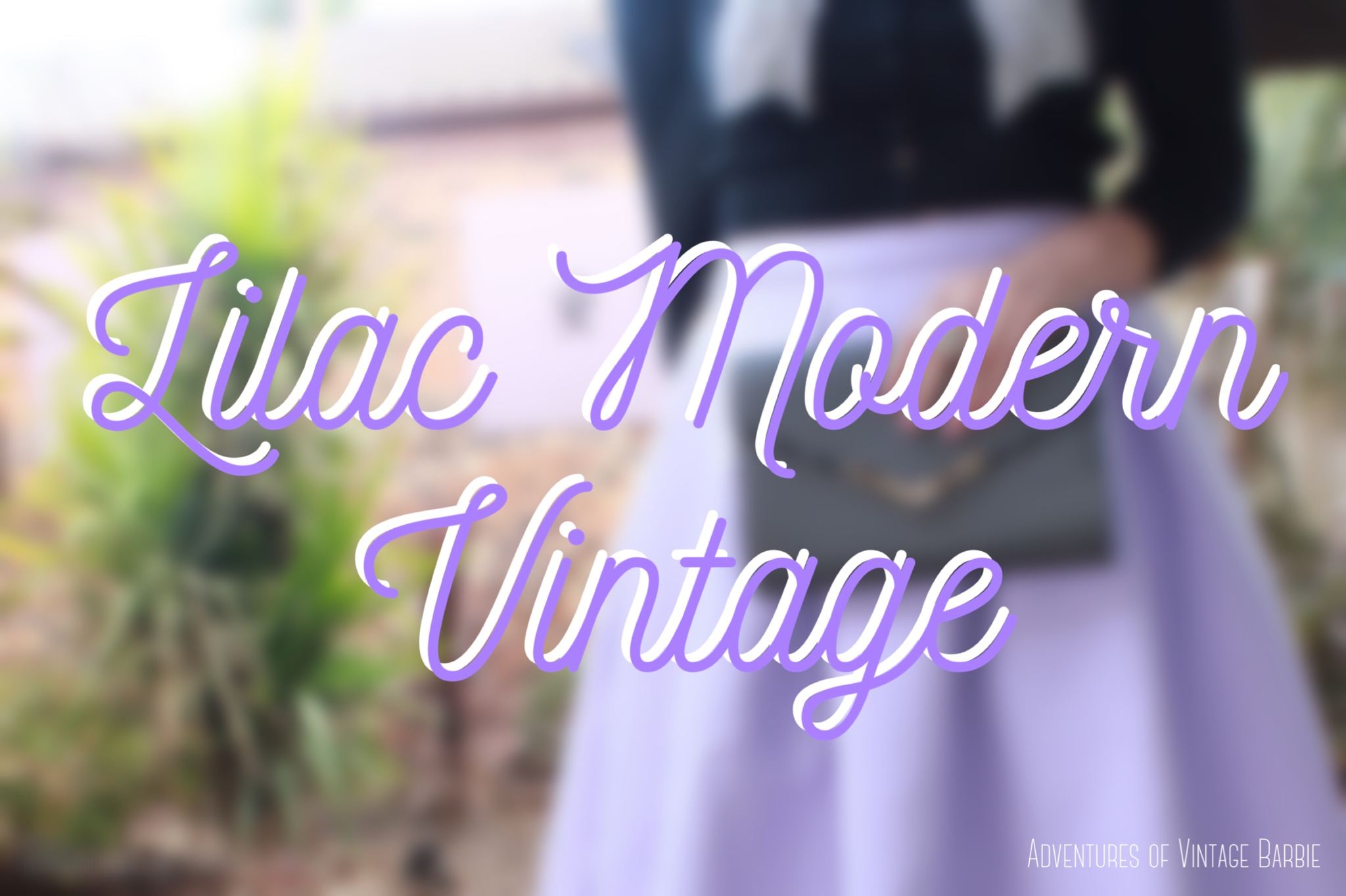 Lilac Modern Vintage