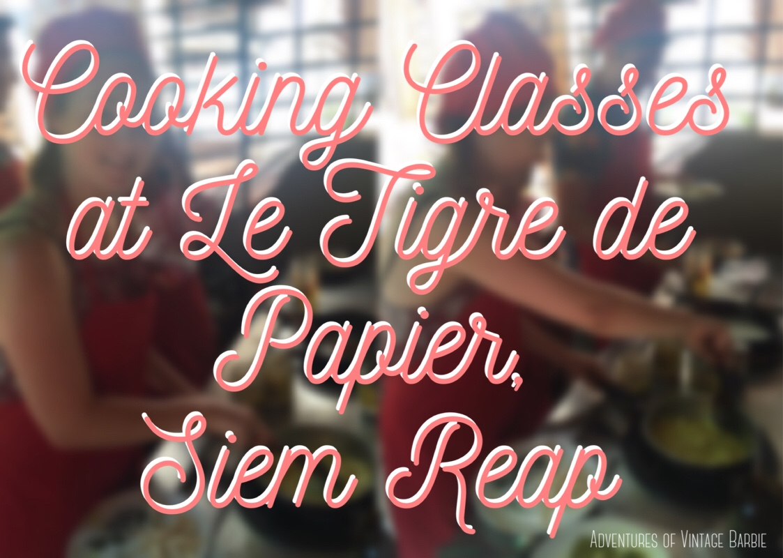 Cooking Classes at le Tigre de Papier