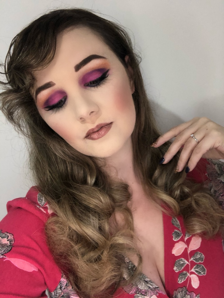 Morphe makeup review and makeup done with morphe products