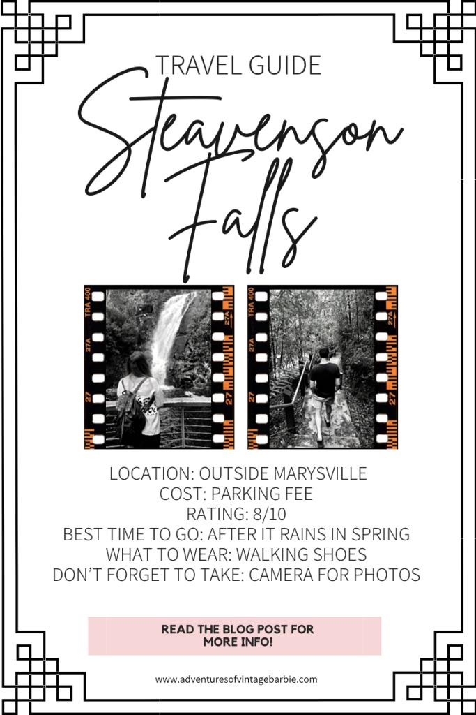 Steavenson  Falls travel guide